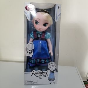 """Disney Collection Elsa 16"""" Doll from Frozen Movie"""